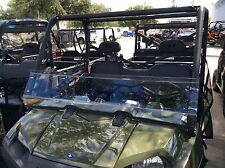2016-2019 POLARIS RANGER 570 FULL SIZE CREW 3/16 POLYCARBONATE HALF WINDSHIELD