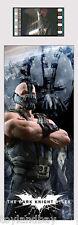Film Cell Genuine 35mm Laminated Bookmark USBM628 Batman Dark Knight Rises Bane
