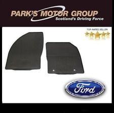Nuevo Genuino Ford Focus MK2 2005-2011 frontal de goma Tapetes Set 1446089