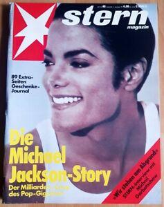 Michael Jackson 1991 Stern 48 Story King of Pop Titel Story Milliarden-Coup