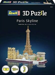 Revell 3D Puzzle-00141 - Paris Skyline - New & Sealed Box