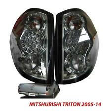 Smoked Black LED TAIL LIGHTS LAMPS MITSUBISHI TRITON 05-14 PICK UP TRUCK ML MN