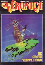 VERONICA 1981 nr. 13 -  THE WHO / PATRICK DUFFY / ROB DE NIJS / DESMOND WILSON