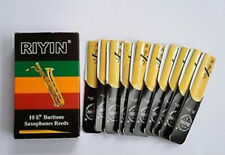 Baritone Saxophone Reeds Strength 2.5 , 10-pack NEW