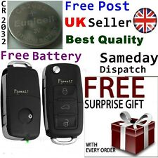 Key Remote Fob Case for VW Passat Golf Polo T4 T5 Bora Sharan Badge 3 Button R32