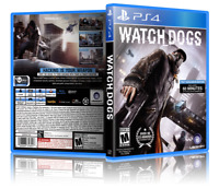 Watch Dogs - Replacement PS4 Cover and Case. NO GAME!!