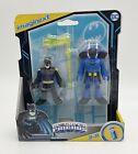DC Super Friends Imaginext BATMAN & ROOKIE Action Figure Set 2 Sealed NEW GXJ30