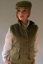 Woolen Zip Collared Waistcoats for Women