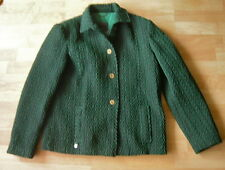 VERSACE JEANS COUTURE Green Jacket Signature Buttons Size 42 Made in Italy