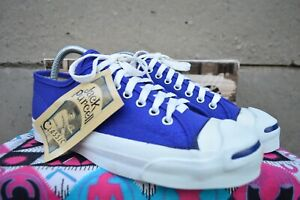 Converse Jack Purcell Vintage Rare Canvas Deadstock OG MADE IN USA 8 NWB
