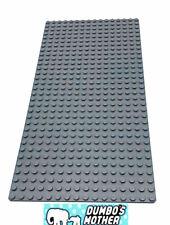 Lego Baseplate 16x32 Studs Dark Bluish Gray Base Plate Building Platform NEW
