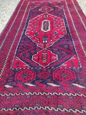 Antique Handmade Perssian Small Wool Rug 3.0x5.7 FT.