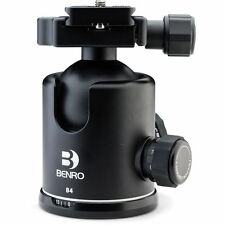Benro B4 Triple Action Ball Head with PU70 Quick-Release. NEW! NoFees! EU Seller