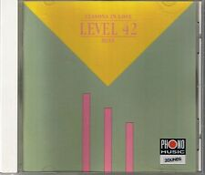 Level 42 Lessons In Love  (Best of) Zounds CD  RAR