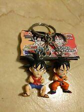 Dragon Ball z One Piece crossover banpresto 40th weekly jump Goku Luffy keychain