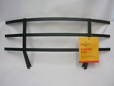"Driftwood Coal Saver Clip On Fret Front Black To Fit 18"" Fires Fire Grate Large"