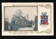Kent BROMLEY Parish Church Heraldic pre1919 PPC