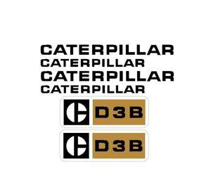 Caterpillar CAT D3B Crawler / Dozer Decals Set Stickers Vinyl 3M Tractor D 3 B