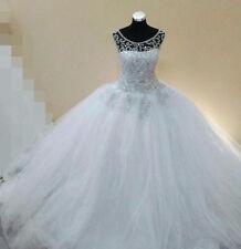 Ball Gown/Duchess Beading Boat Neck Sleeve Wedding Dresses