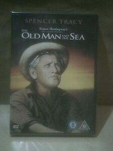 The Old Man And The Sea - Spencer Tracy - Hemingway - UK DVD - New/Sealed