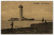 cartolina LIVORNO torre marzocco