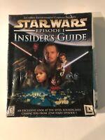 Star Wars: Episode 1 - Insider's Guide [PC Game] New Still Sealed Damaged Box