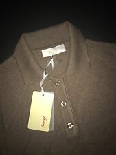 Brioni Polo tshirt  Long sleeve size L  Color  BEIGE  Mens Knitwear