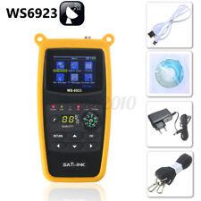 SatLink WS-6923 2.1'' LCD DVB-S FTA USB Digital Satellite Signal Meter Finder
