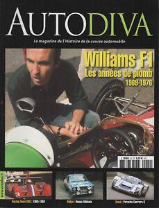 AUTODIVA 22 WILLIAMS F1 CHAPARRAL PORSCHE 906 HANNU MIKKOLA GUNNAR NILSSON