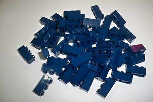 Lego Stein, 3622, 1x3, dunkel blau, 50 Stück, Neu**