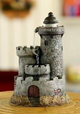 Lighthouse Water Fountain Waterfall Indoor Nautical Home Decor Desk Table New