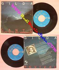 LP 45 7'' GILDA Canto di una notte sull'aspromonte Revival 1980 no cd mc dvd