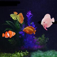 Luminous Silicone Fish Lionfish Aquarium Fake Simulation Fish Toy Tank Decor