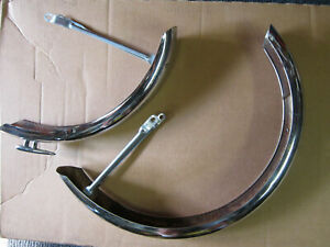 Vintage Ross Bicycle Front and Rear Fenders