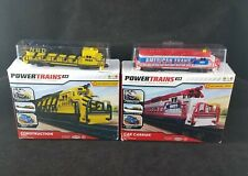 Jakks Pacific Power Trains 2.0 Construction And Car Carrier Engines 2018 New