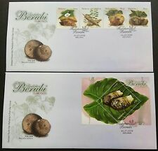 2009 Malaysia Tuber Plants 4v Stamps & Mini-Sheet on 2 FDC (Melaka Cancellation)