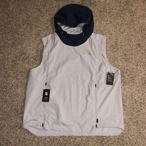 Nike Chargers On Field Vest Pullover Sz 3XL Sz 3XL AO4329-007