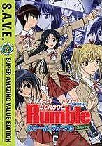 SCHOOL RUMBLE 2 - DVD - Region 1 - Sealed