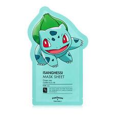 [Tony Moly] Pokemon Isanghessi Facial Masks Sheet Pack Korean Bulbasaur 1ea_01