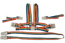 New Dreambaby Safety Rainbow Harness & Reins Walking Pram Chair Baby Dream