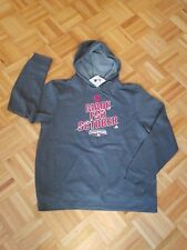 Cleveland Indians A.L. Champs Baseball Hoodie Mens XL  Gray New!