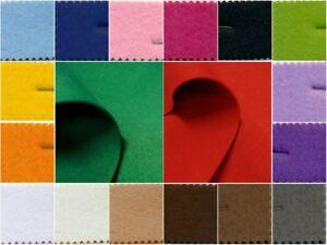Tessuto panno feltro di poliestere spessore 3 mm. vendita al metro 100 x 90 cm.
