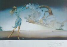 "SALVADOR DALI "" MIRAGE ""  HAND NUMBERED PLATE SIGNED LITHOGRAPH"