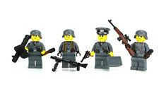 Axis Enemy Squad WW2 Soldiers made w/ real LEGO® minifigures