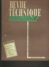 (C5)REVUE TECHNIQUE AUTOMOBILE RENAULT 4CV / BUICK V8 1953-1955 / PEUGEOT 403