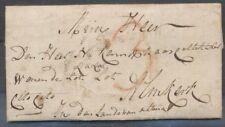 BRIEF DORDRECHT-ALMKERK 11 FEBR 1794 ,GESCHREVEN CITO,CITO,DOCH PORT 3 ST. ZH373