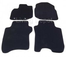 Fit For 2009-2013 Honda Fit 4Dr Floor Mats Carpet Front & Rear Nylon Black 4PC