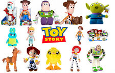 NEW OFFICIAL TOY STORY 4 SOFT TOYS WOODY BUZZ FORKY DUCKY JESSIE BO PEEP BUNNY