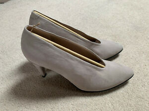 Ecco Shape 75 Pointy high heels ladies shoes   beige   size 6.5   new