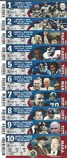 2013 NFL NEW YORK GIANTS FULL UNUSED FOOTBALL TICKETS - ENTIRE HOME SEASON -MINT